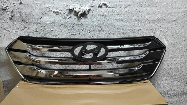 Hyundai Santa Fe 2013 2014 2015 2016 решётка радиатора