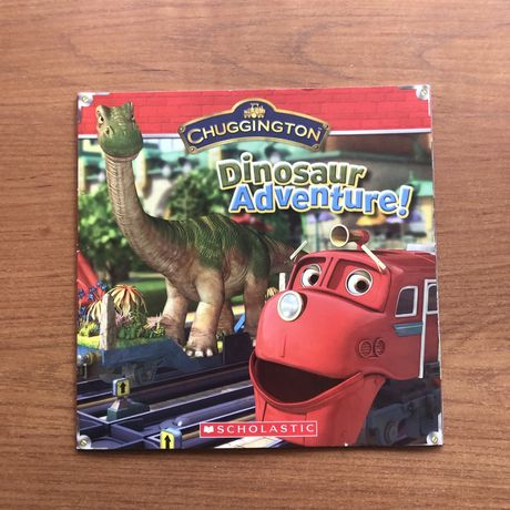Дитяча книга англійською Chuggington: Dinosaur Adventure!