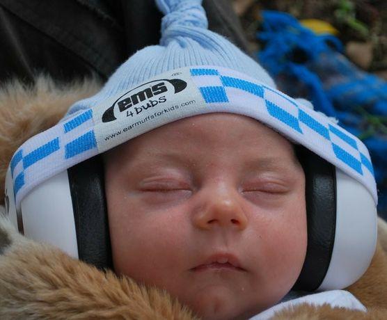 Nauszniki ochronne ems 4 bubs dla niemowląt