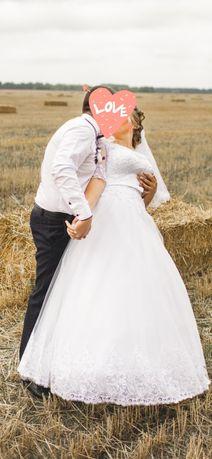 Свадебное платье 2020 года