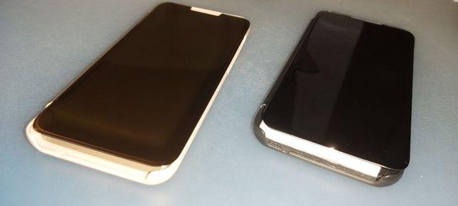 Capas Samsung Galaxy A70 Flip, Smart View e Kickstand Dourada