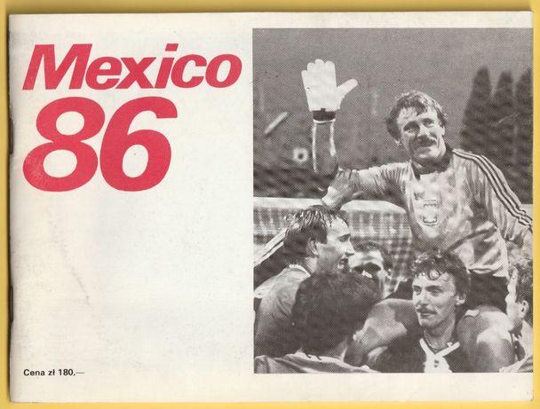 MEXICO 86 - Mistrzostwa Świata 1986 - praca zbiorowa