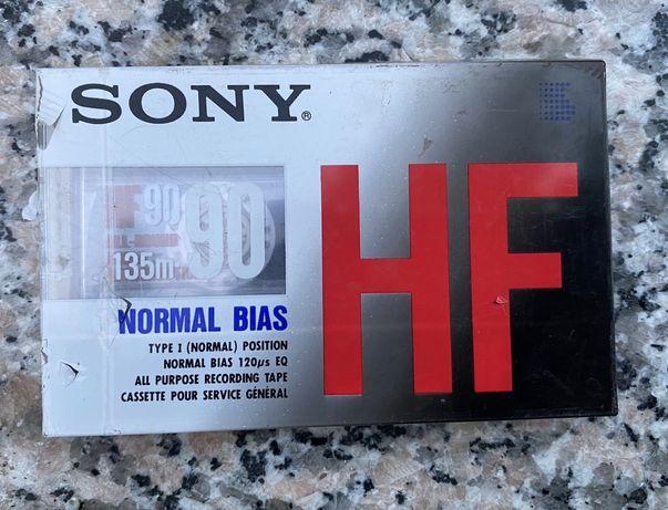 Аудио кассета Sony HF 90 (1990)