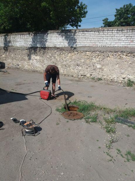 Прочистка труб Херсон. Чистка канализации в херсоне.