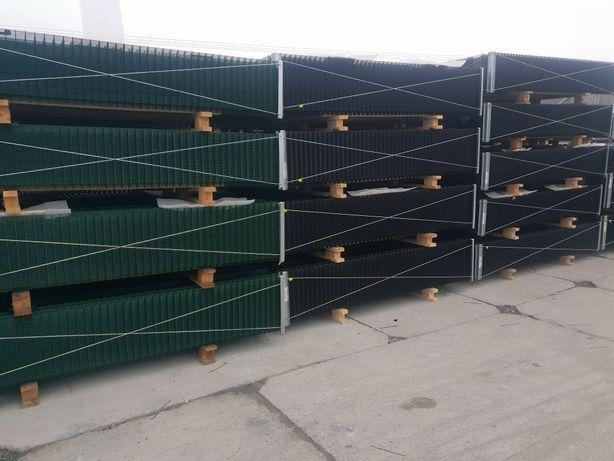 Ogrodzenie panelowe Wiśniowski kompletne 69zl metr 10 lat gwarancji