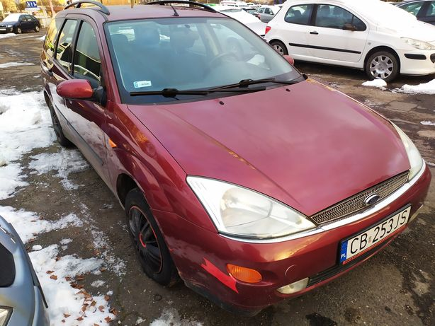 Ford Focus 1.6 benzyna