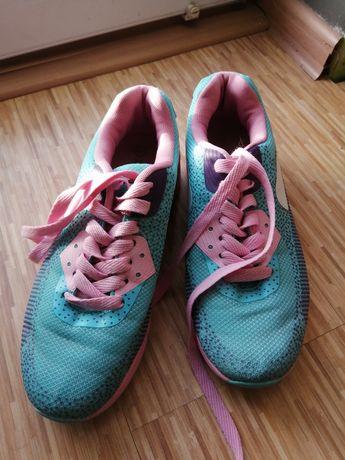 Buty sportowe różów miętowe