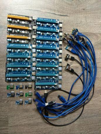 Райзер для видеокарт PCI-E , майнинг фермы, переходник, 3.0