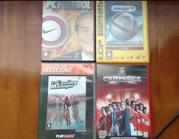 5 Jogos PC + DVD Benfica Campeão (2009/2010)