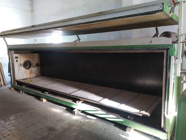 Сушильна камера для деревини Лаубер