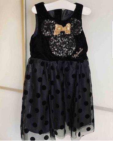 Нарядное платье и болеро с пайетками H&M