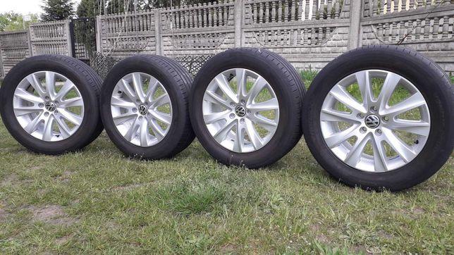 Koła Felgi VW Tiguan 17cali 5x112 et43 7J opony lato Hankook 235/55R17