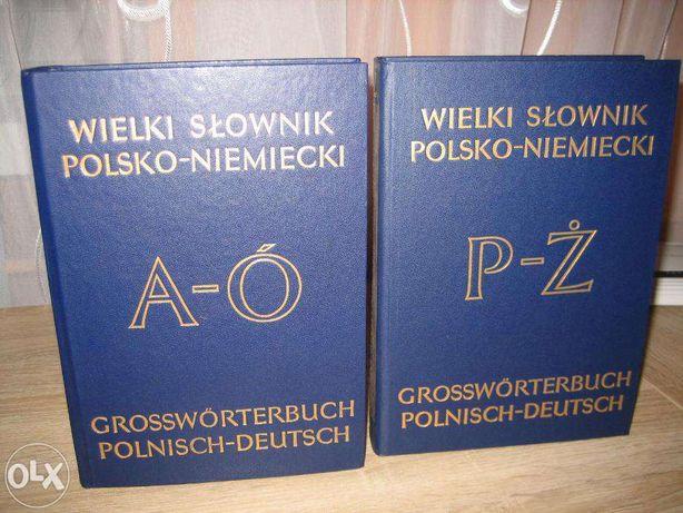słownik polsk -niecki