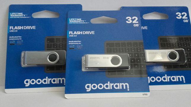 Pendrive GOODRAM TWISTER UTS2 32GB USB 2.0 Czarny | Gwarancja!