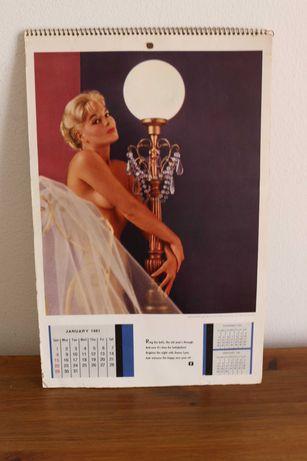 Playboy calendário 1961