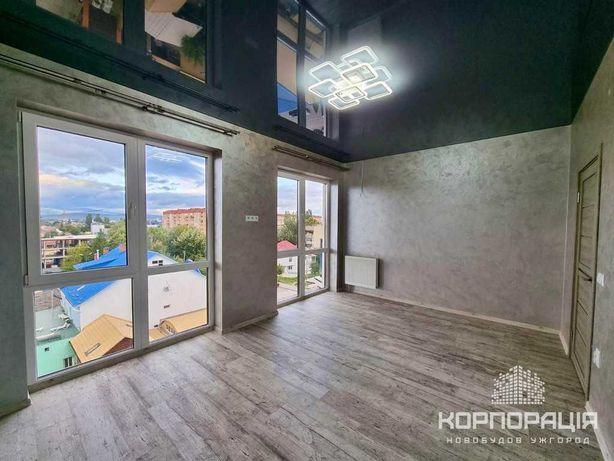 Продаж 1-км квартири з РЕМОНТОМ у новобудові, чудовий вид