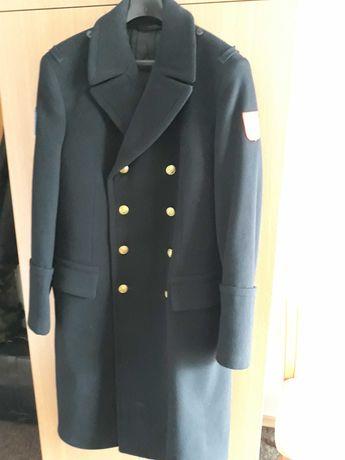 Zimowy płaszcz męski Marynarka Wojenna dla kolekcjonera