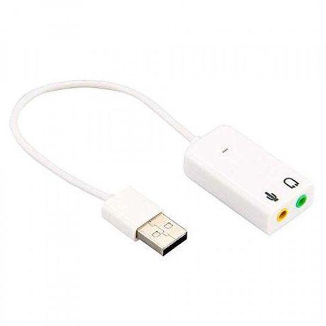 Placa de som y microfone de USB / NOVO