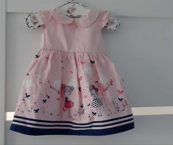 Śliczne sukienki Next 3-6, H&M