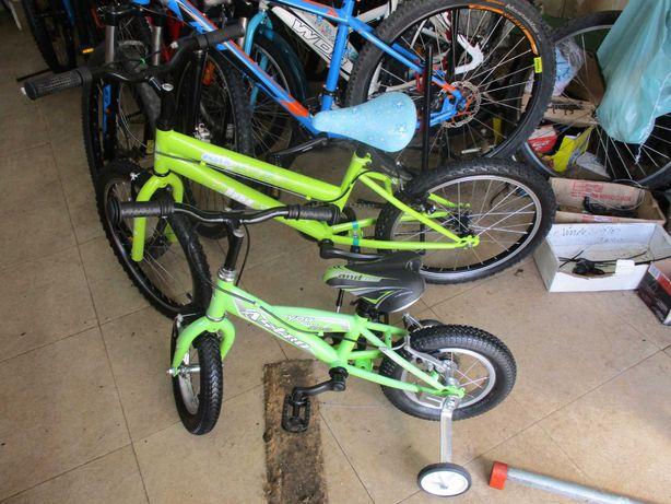 Duas bicicletas de criança boas e baratas