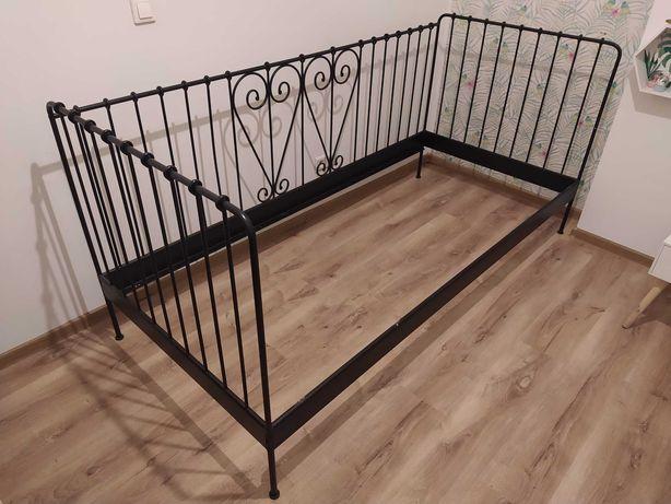 Rama łóżka IKEA Meldal -czarna - kuta
