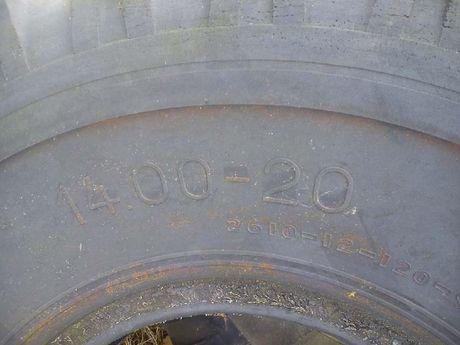 Opony przemysłowe 14 r20 ładowarka fadroma