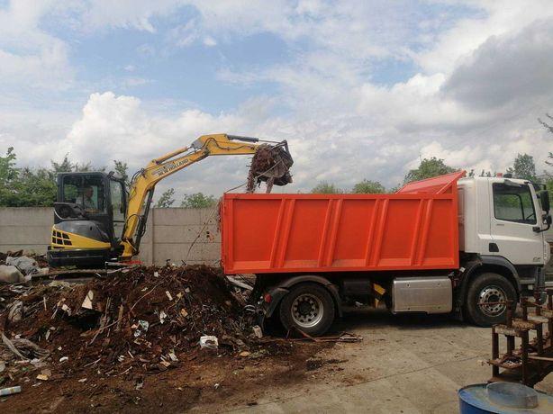 Вывоз мусора Вивезення будівельного сміття спецтехника екскаватор