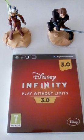 Jogo PS3 Disney Infinity 3.0 com base mundo figuras e oferta