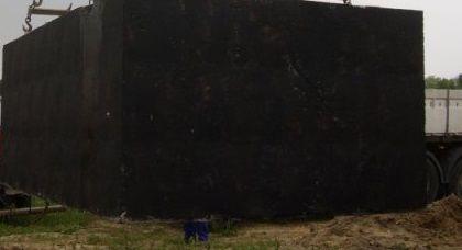 Szambo,Zbiornik betonowy na deszczówkę,Szamba betonowe,zbiorniki