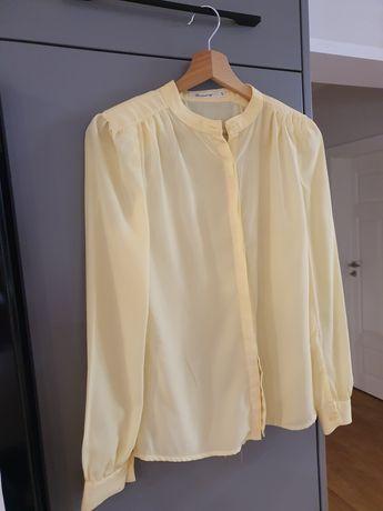 Elegancka żółta koszula r. S