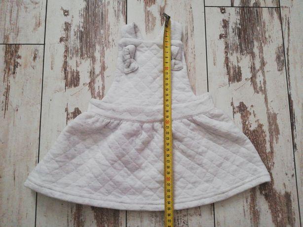 Sukienka na szelkach 74cm
