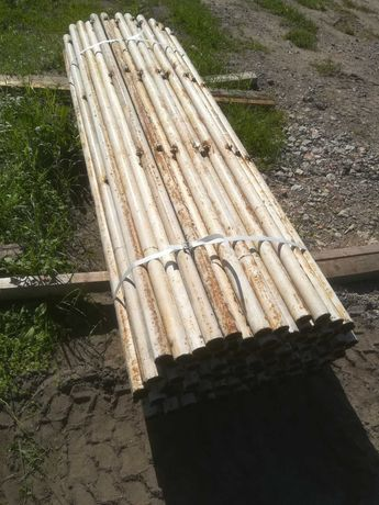 RABAT - Słupki ogrodzenie kompletne fi-51mm dł 2,25m siatka płot