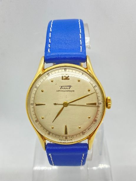 Zegarek złoty TISSOT Antimagnetique próba 585 ( 14k ) - jak nowy
