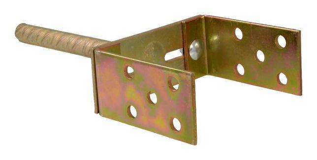 PODSTAWA słupa regulowana z prętem, wspornik, kotwa 0-160mm