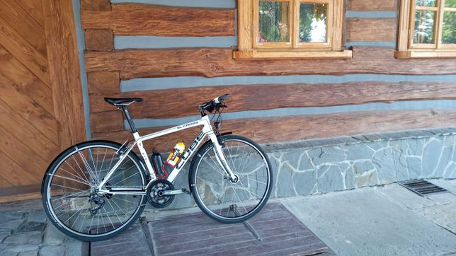 Rower szosowy Cube SL Cross Pro stan perfekcyjny, Magura hydrauliczne