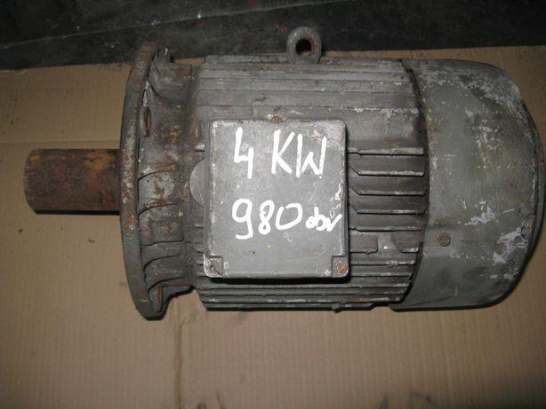 Silnik 4 KW,980 obr