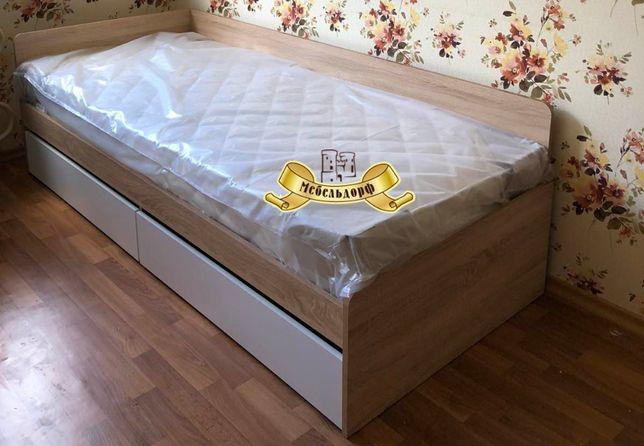 """Кровать односпальная с ящиками 80х190 """"Соната"""" Эверест - Акция Днепр"""