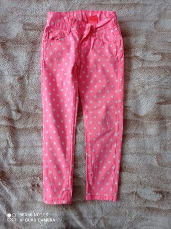 Spodnie dziewczęce 116 jak nowe