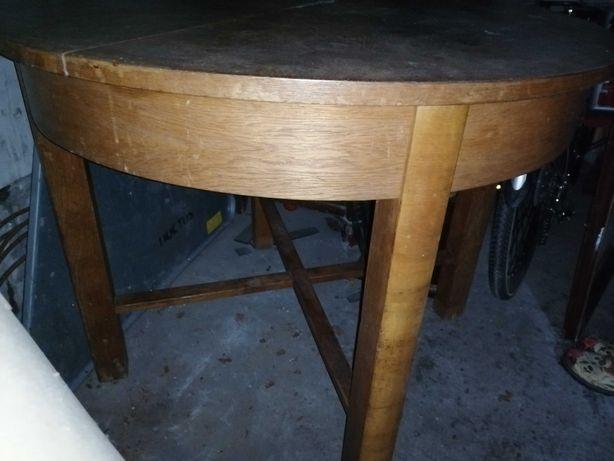 Stół rozkładany art deco