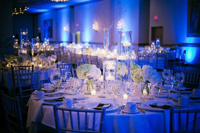 NOWOŚĆ Dekoracja SALI weselnej ŚWIATŁEM