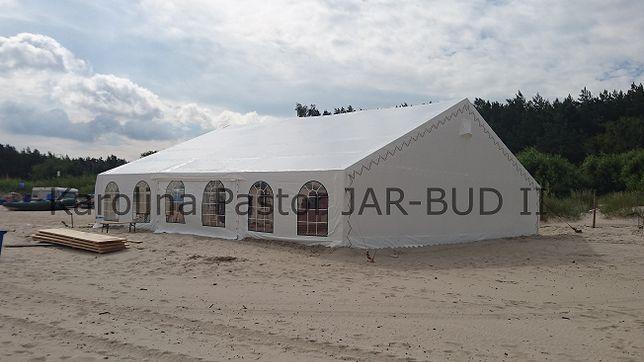 Nowa hala namiotowa o wym. 15,00m x 15,00m x 2,50m
