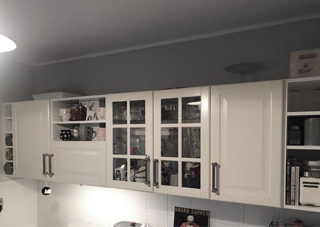 Komplet szafek kuchennych Ikea method wiszące Bodbyn wys.70 cm