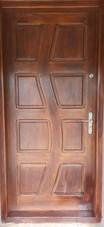 Drzwi dębowe  90