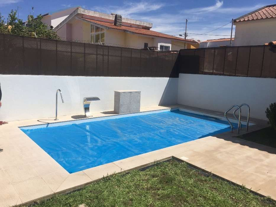 Cascata para piscina cascais piscinas