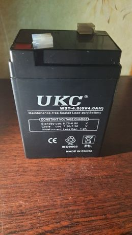 Аккумулятор UKC WST-4 6V 4.0Ah