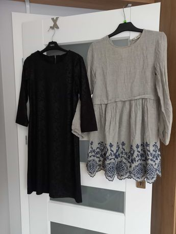Wielka paka ubrań ciążowych dla kobiet noszących  standardowo S/M