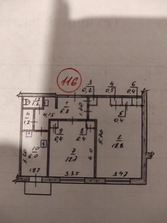 Продам комнату в двух комнатной квартире