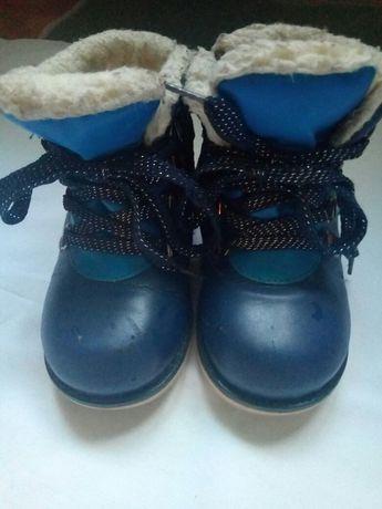 Ортопедические зимнии ботинки.Шалунишка.