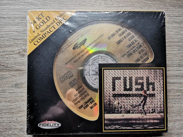 Rush – Roll The Bones CD Limited Edition 24KT Gold
