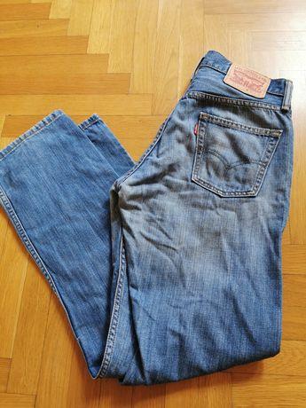 Levis 514 jeansy spodnie okazja tanio 30x32